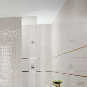 Carrelage Roma diamond Carrara brillant/ret