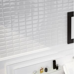 Carrelage Equipe Metro Whiite brillo Blanc 15 x 8, vente en ligne de ...