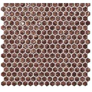 Mosaique Dwell Hexagone rust gold