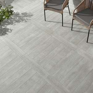 Carrelage Wildwood Light grey mat