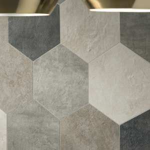 Carrelage Icon Esagono dove gray ret
